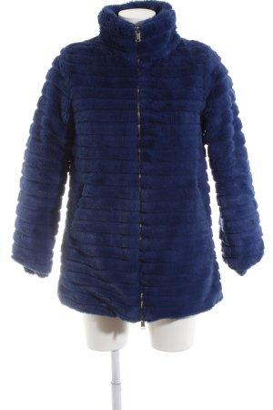 Guess Manteau matelassé bleu motif de courtepointe élégant