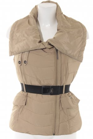 Guess Chaleco acolchado camel look casual