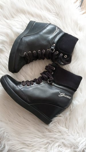 Guess Wedge Booties black