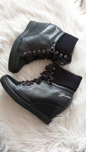Guess Stiefel Keilabsatz Boots Schuhe 39