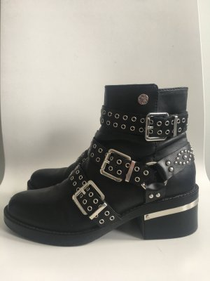 Guess Stiefelette aus echtem Leder-neue Kollektion