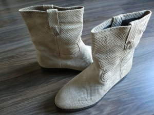 GUESS Stiefelette Boots Gr. 39 Leder NEU