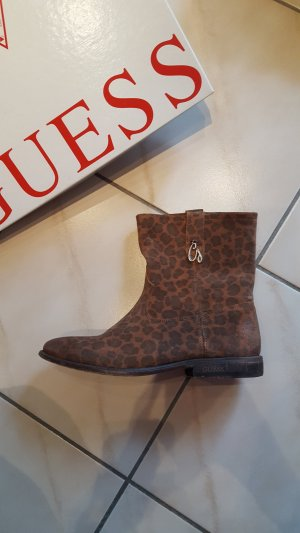 Guess Bottines multicolore daim
