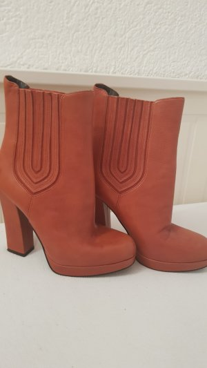 Guess Slip-on Booties russet-brown red