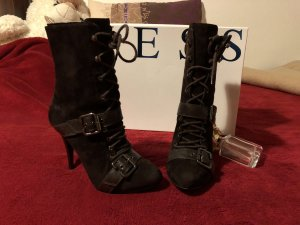 Guess Botines marrón oscuro