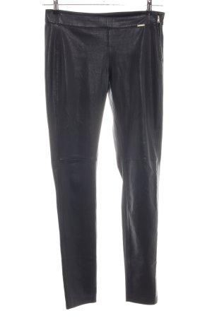 Guess Pantalone jersey nero stile casual