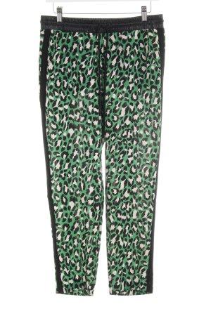 Guess Pantalone jersey motivo animale impronta animale