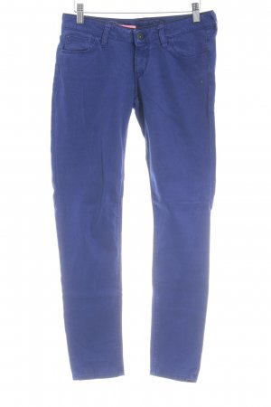 Guess Stoffhose blau Casual-Look