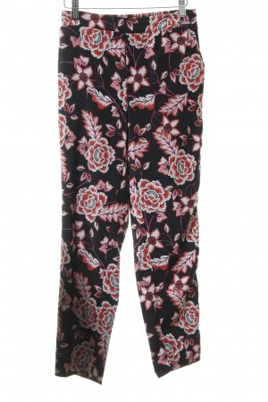 Guess Stoffhose Blumenmuster Casual-Look