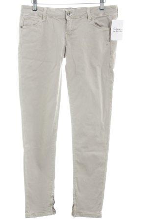 Guess Pantalone jersey crema stile casual