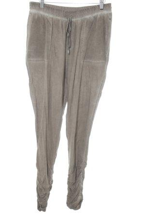 Guess Pantalone jersey marrone chiaro stile casual