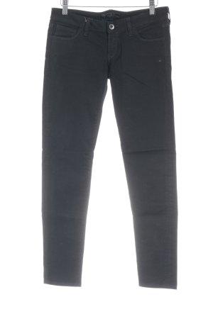 Guess Pantalone jersey nero con glitter
