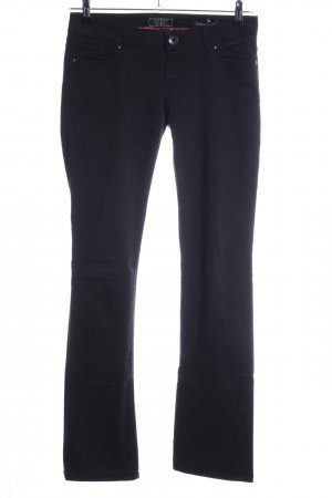 Guess Straight-Leg Jeans schwarz Casual-Look