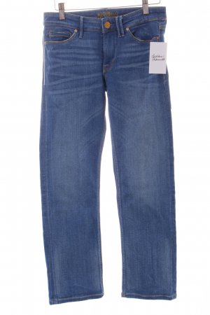 Guess Straight-Leg Jeans blau Casual-Look