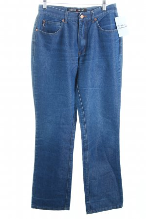 Guess Straight-Leg Jeans dunkelblau Casual-Look