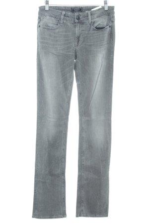 Guess Straight-Leg Jeans grau Farbverlauf Casual-Look