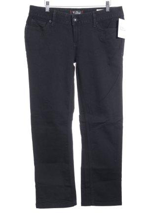 Guess Straight-Leg Jeans schwarz schlichter Stil