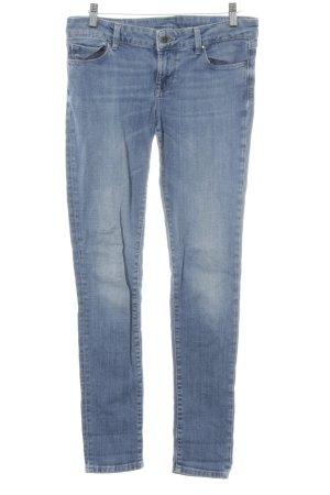 Guess Stretch Jeans himmelblau-stahlblau Glitzersteinverzierung