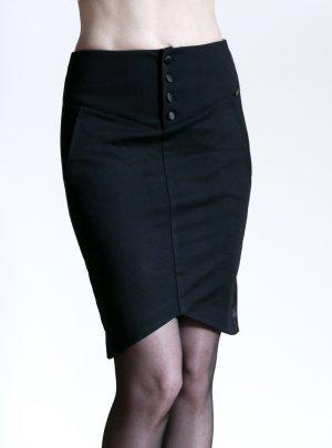 Guess Falda de tubo negro