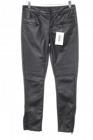 Guess Pantalone elasticizzato nero Stile ciclista