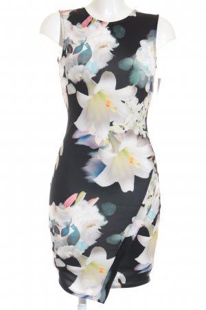 Guess Stretchkleid florales Muster Casual-Look