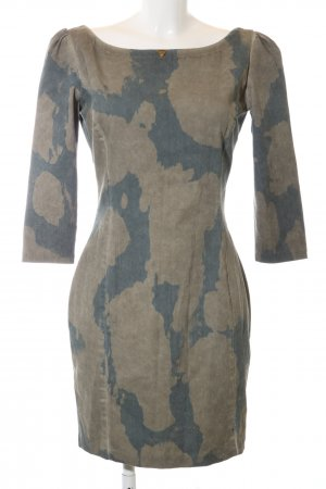 Guess Stretch Dress light grey-bronze-colored abstract pattern casual look