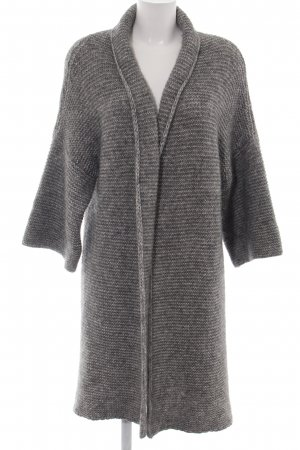 Guess Knitted Cardigan light grey-white flecked casual look