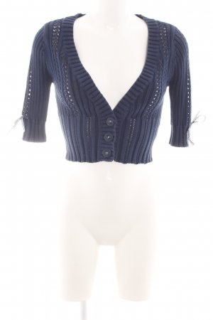Guess Knitted Bolero blue casual look