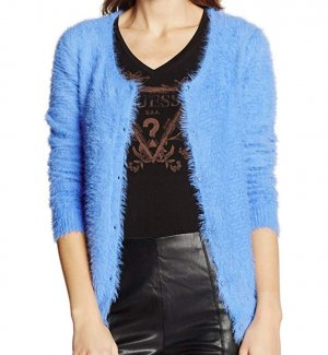 Guess Strickjacke, Cardigan, M, blau, Neu