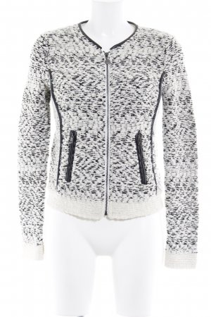Guess Strickjacke creme-schwarz meliert Casual-Look
