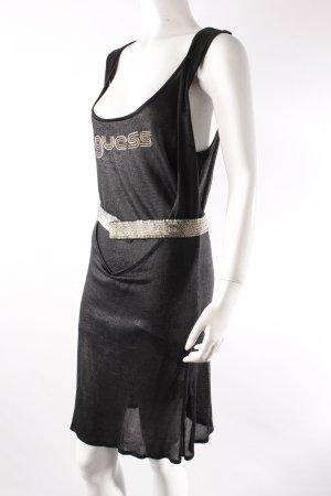 Guess black knit dress