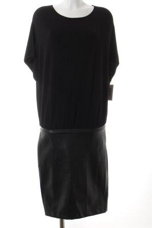 Guess Vestido tejido negro estilo fiesta