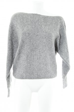 Guess Strickpullover hellgrau Casual-Look