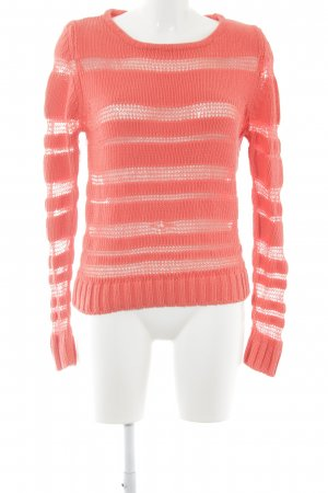 Guess Strickpullover neonpink Casual-Look