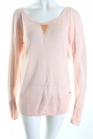 Guess Strickpullover rosé Romantik-Look