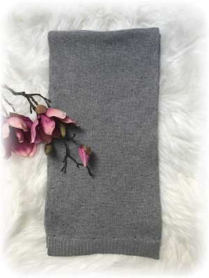 Guess Knitted Scarf light grey-grey
