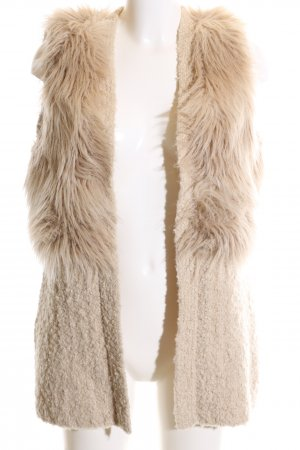 Guess Knitted Vest nude elegant