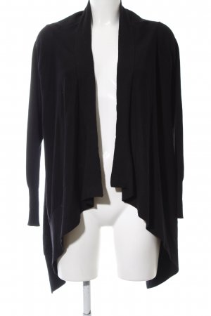 Guess Knitted Wrap Cardigan black casual look