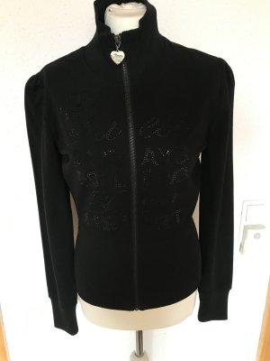 Guess Sweat-Jacke mit aufwendigem Straßbesatz Gr. M/L