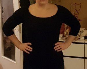 Guess Sweater mit 3/4 Ärmeln in Schwarz