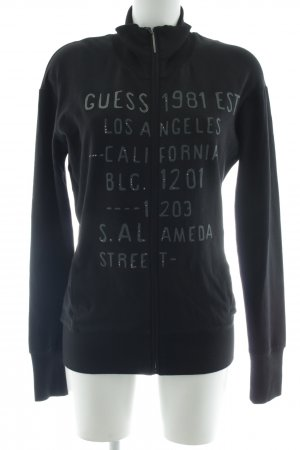 Guess Giacca fitness caratteri stampati stile casual