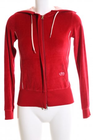 Guess Giacca fitness caratteri ricamati stile casual