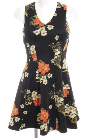 Guess Vestido de tela de sudadera estampado floral look casual