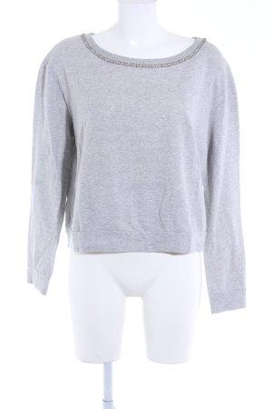 Guess Sweatshirt hellgrau-silberfarben Casual-Look