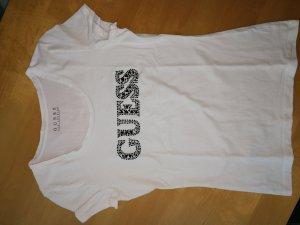 Guess T-shirt bianco-nero