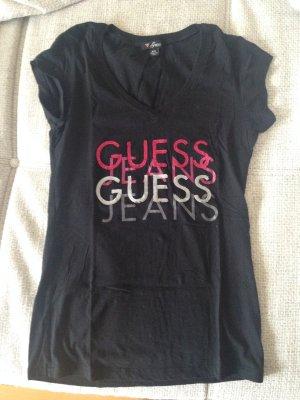 Guess T-Shirt mit Pailletten