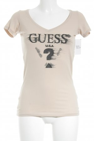 Guess T-Shirt nude Casual-Look