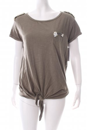 Guess T-Shirt olivgrün Casual-Look