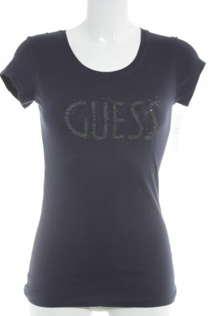 Guess Camiseta letras impresas look casual