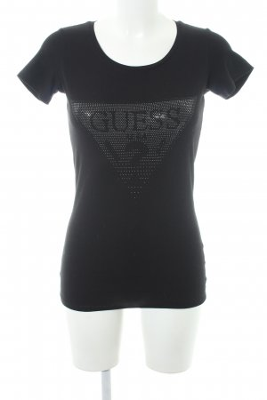 Guess T-Shirt black casual look